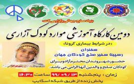 Educational workshop on the examles of child abuse.کارگاه اموزشی موارد کودک آزاری